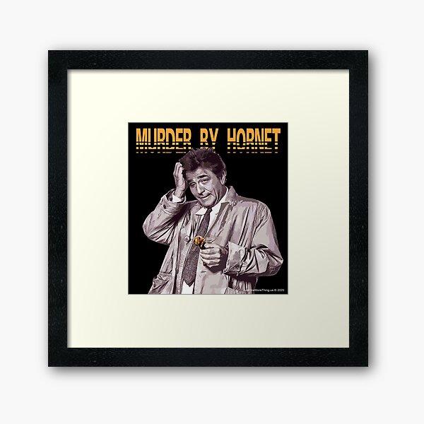 Murder By Hornet Framed Art Print