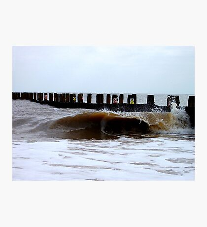The Egotistical Wave! Photographic Print