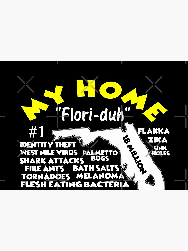 My Home - Florida T-Shirt T-Shirt Design by Mbranco