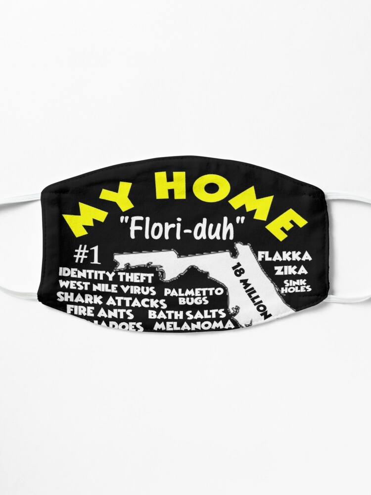 Alternate view of My Home - Florida T-Shirt T-Shirt Design Mask
