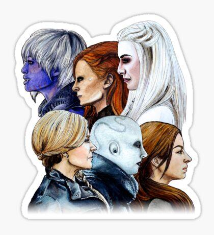 Women of Defiance Sticker