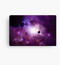 Nebula Cluster Canvas Print