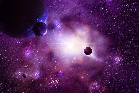 Nebula Cluster by charmedy