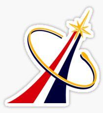 Commercial Crew Program (CCP) Logo Sticker
