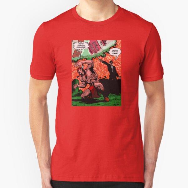 Native American Kryptonite Slim Fit T-Shirt