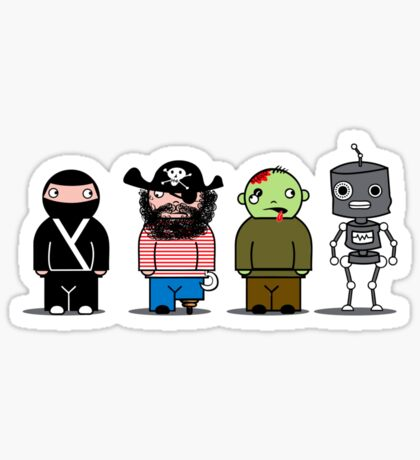 The Usual Suspects Sticker
