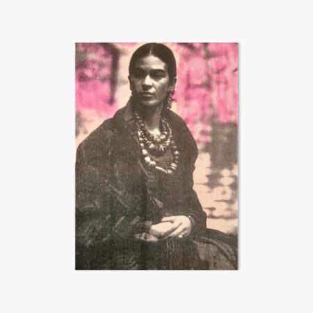 Frida the Queen Art Board Print