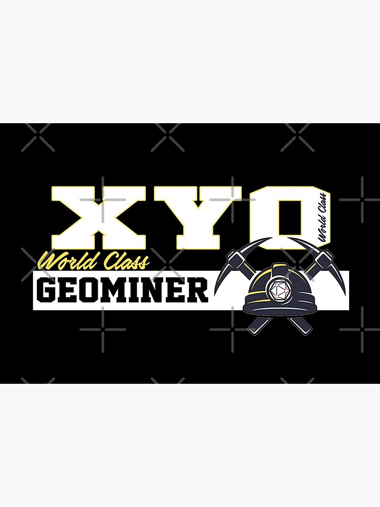 XYO World Class Geominer Design by Mbranco