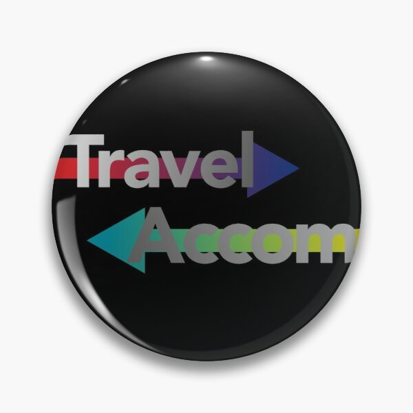 Travel/Accom Pin