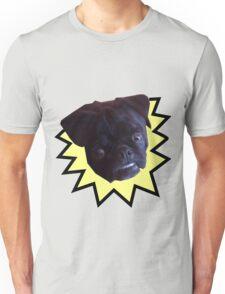 Overbite Black Pug Unisex T-Shirt