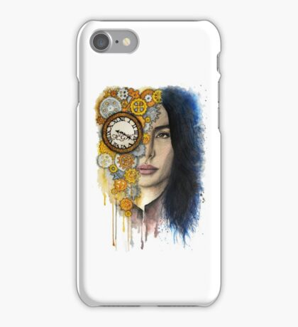 Time Will Tell iPhone Case/Skin