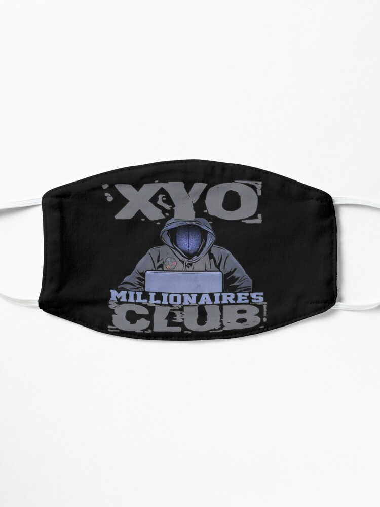 Alternate view of XYO Millionaires Club Design by MbrancoDesigns Mask