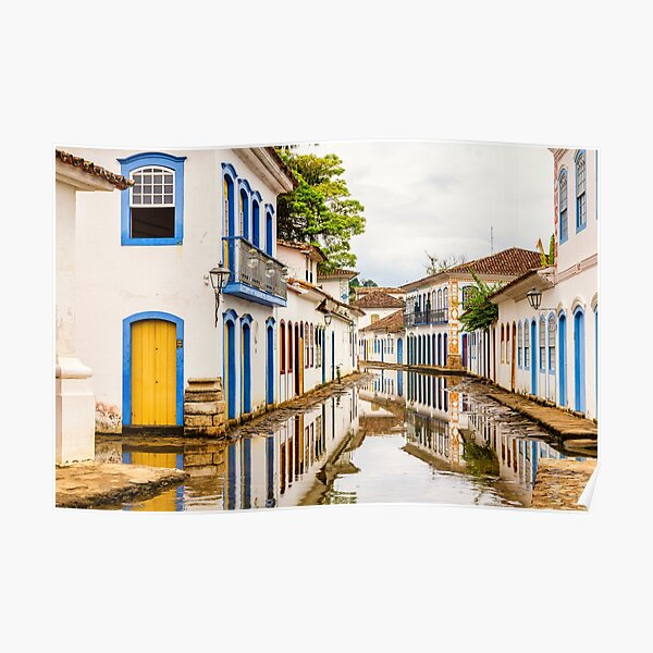 Historical center of Paraty Poster