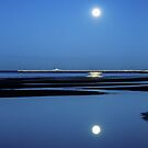 Silver Moon Pier by Silken Photography