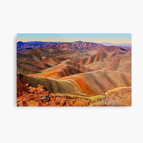 Arkaroola Landscape Metal Print