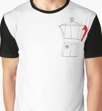Mocha Red Handle Graphic T-Shirt