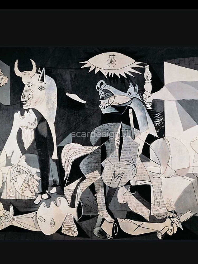 Pablo Picasso Guernica by scardesign11