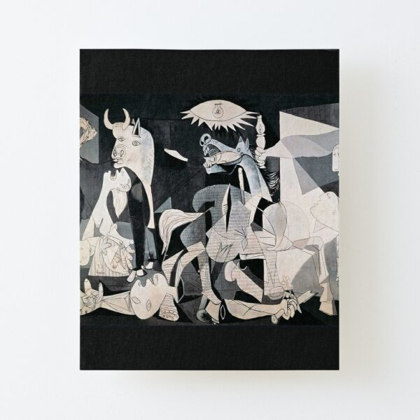 Pablo Picasso Guernica Canvas Mounted Print