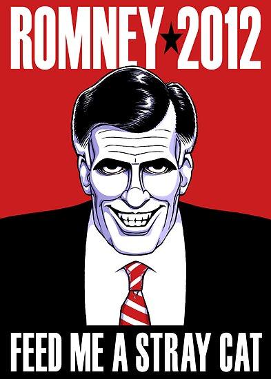 Mitt Romney: American Psycho by Terrence Nowicki