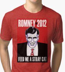 Mitt Romney: American Psycho Tri-blend T-Shirt