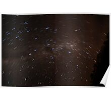 Startrail - Arkaroola - South Australia Poster