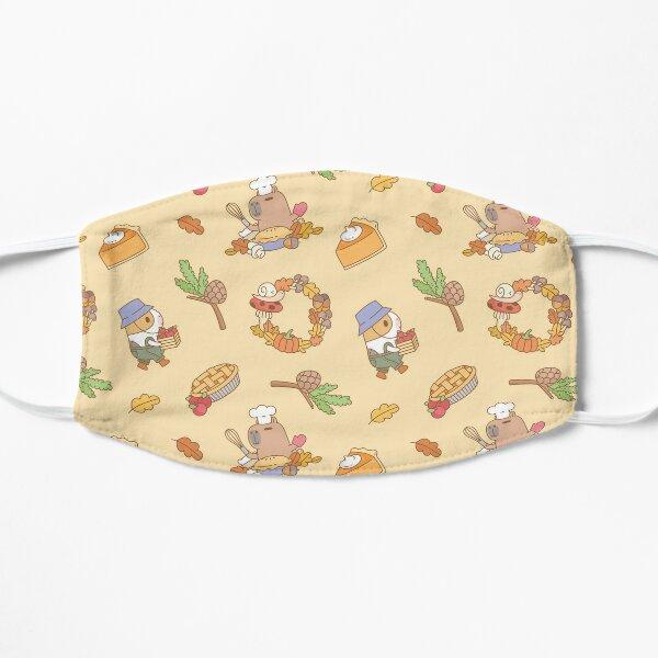 Bubu the Guinea pig, Fall and Pie  Flat Mask