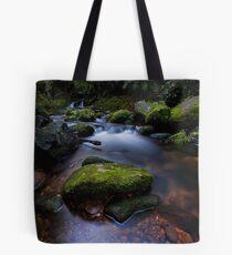 Old Kaimai stream moss Tote Bag