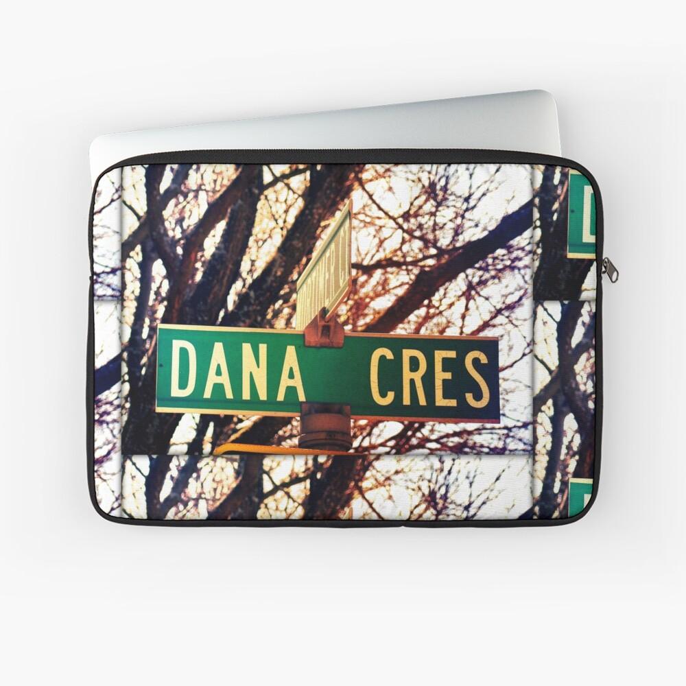 Dana, A gift for Dana, Dana street sign, Birthday gift for Dana  Laptop Sleeve