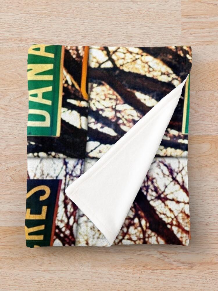 Alternate view of Dana, A gift for Dana, Dana street sign, Birthday gift for Dana  Throw Blanket