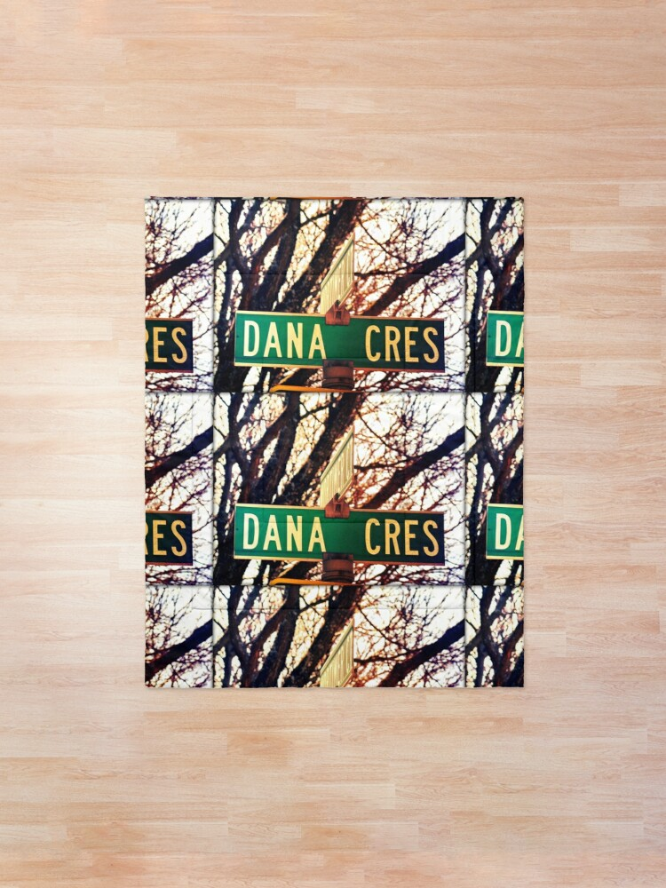 Alternate view of Dana, A gift for Dana, Dana street sign, Birthday gift for Dana  Comforter