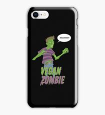 Vegan Zombie iPhone Case/Skin