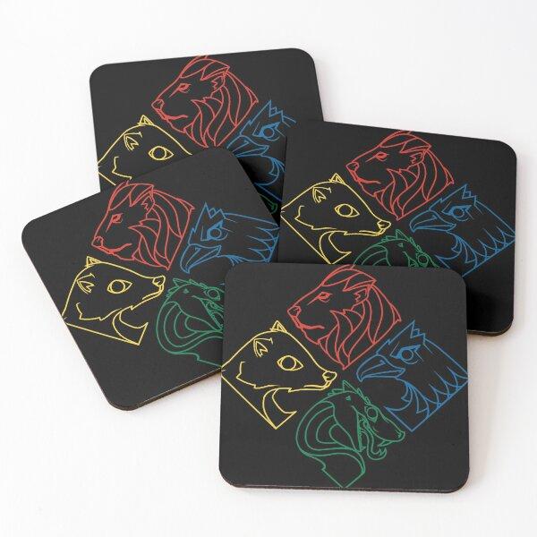 Minimal Magic Coasters (Set of 4)