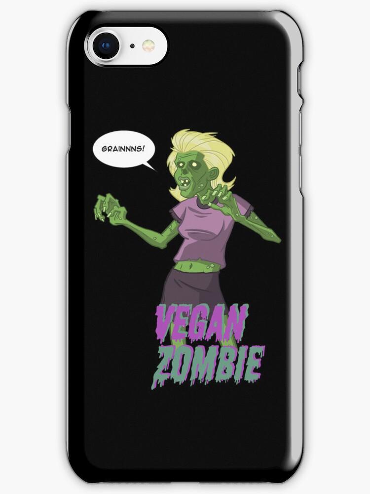 Lady Vegan Zombie by Dennis Culver