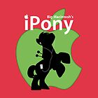 Big Macintosh's iPony (with extra Apple!) by Eniac