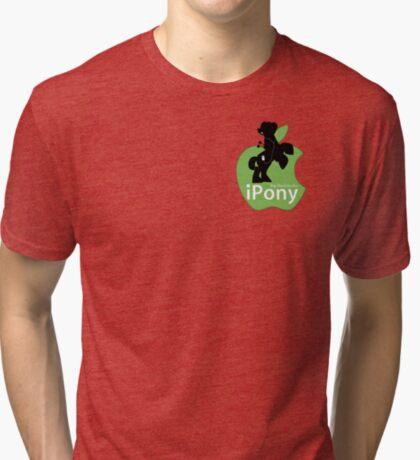 Big Macintosh's iPony (with extra Apple!) Tri-blend T-Shirt