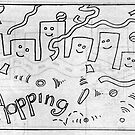 Hopping 1996 by Robert Phillips