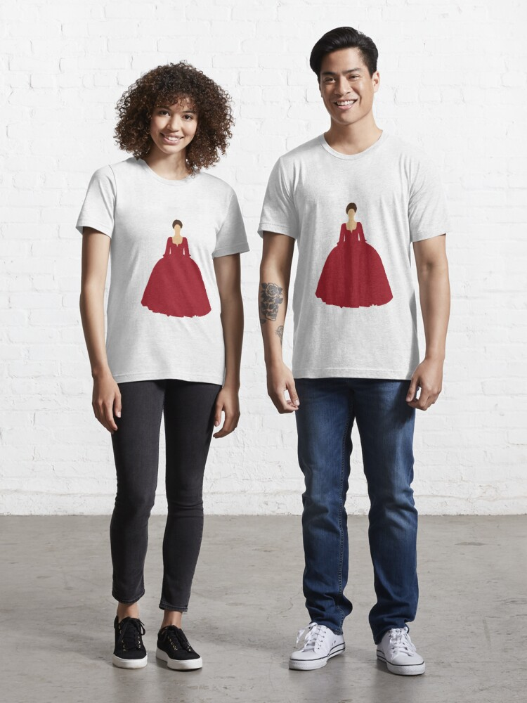 Claire Fraser Outlander Red Dress T Shirt By Unitedfandomss Redbubble
