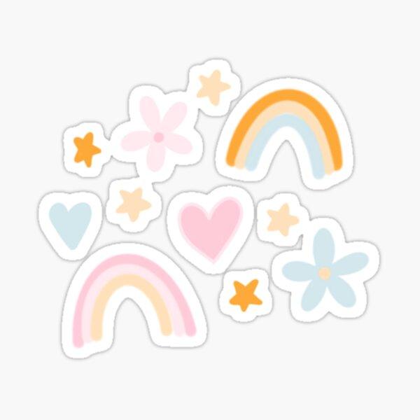 Summer Doodles Sticker