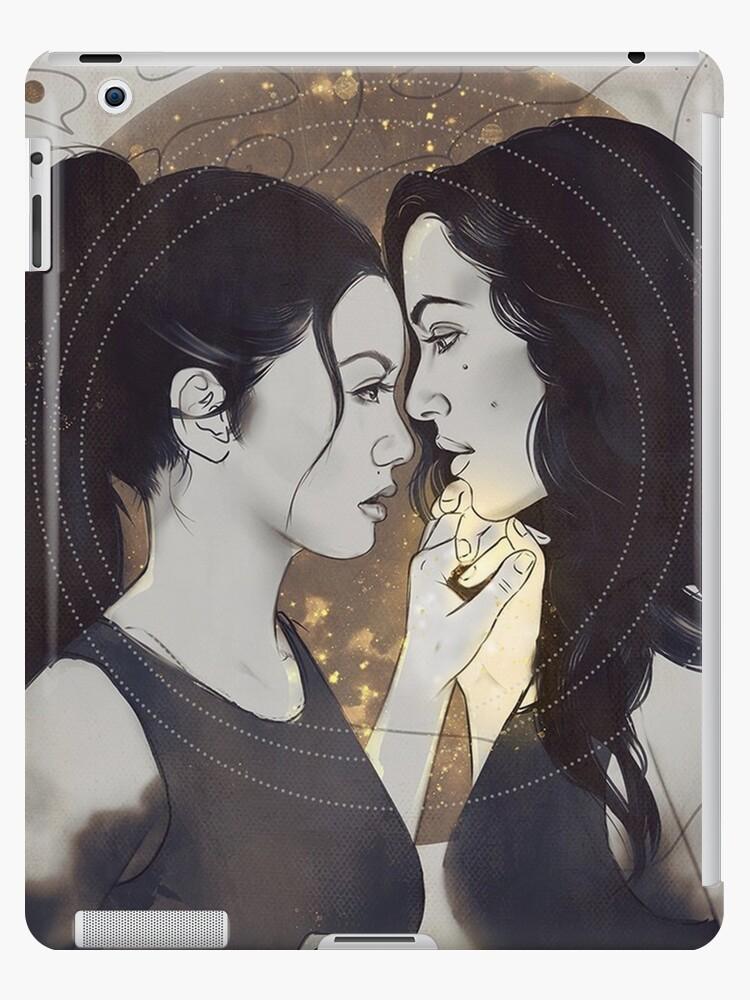 Theodora And Eleanor Crain The Haunting Of Hill House Ipad Case Skin By Innabbz Redbubble
