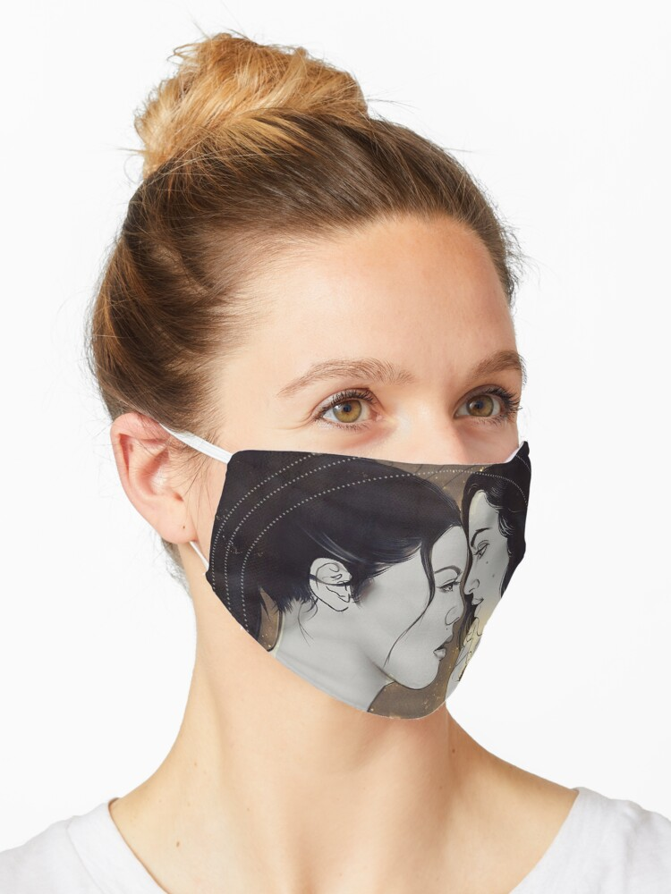 Theodora And Eleanor Crain The Haunting Of Hill House Mask By Innabbz Redbubble