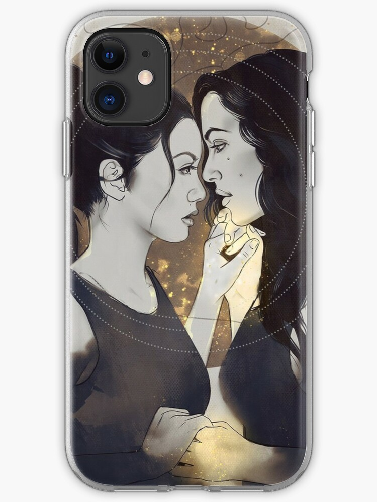 Theodora And Eleanor Crain The Haunting Of Hill House Iphone Case Cover By Innabbz Redbubble