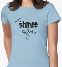 SHINee Girl Womens Fitted T-Shirt