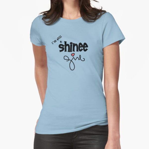 SHINee Girl Fitted T-Shirt