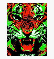Pop Art Tiger Photographic Print