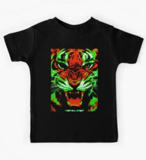 Pop Art Tiger Kids Tee