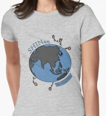Shiny World Womens Fitted T-Shirt
