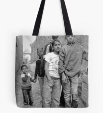 Kids in Tinerhir Morocco Tote Bag