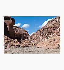 Quezala Canyon, Atacama Desert, Chile Photographic Print