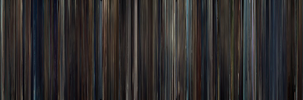 Moviebarcode: Hugo (2011) by moviebarcode