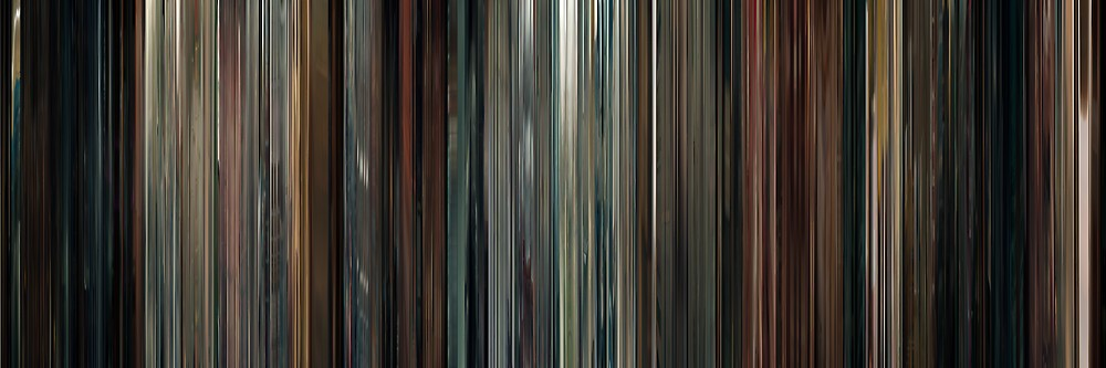 Moviebarcode: Drive (2011) by moviebarcode